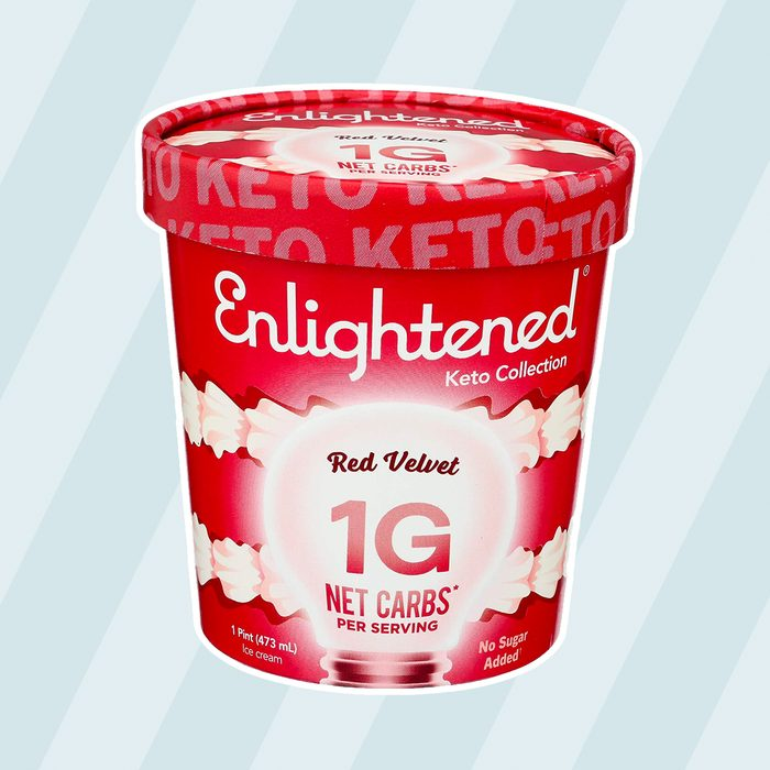low carb ice creams Enlightened Ice Cream Velvet Ounce