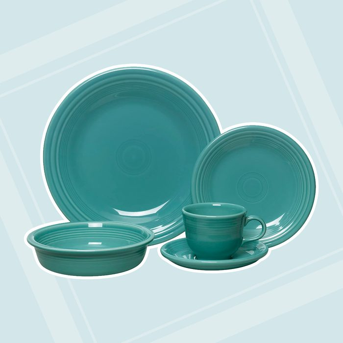 kitchen items for wedding registry Fiesta 5 Piece Place Setting