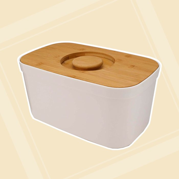 baking containers Joseph Bread Cutting Board Lid White