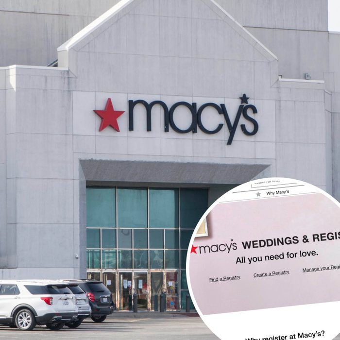 Macy's Wedding Registry