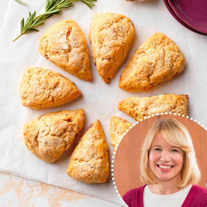 Mini Sweet Potato Scones With Rosemary And Bacon Sue Gronholz ready set bake contest