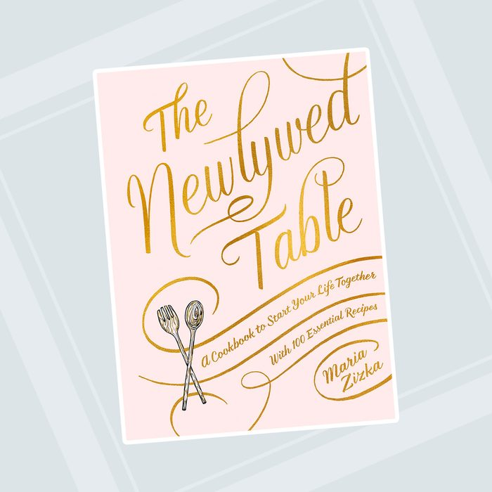 kitchen items for wedding registry Newlywed Table Cookbook Start Together