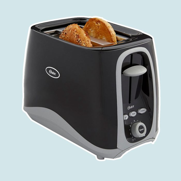 cheap small kitchen appliances Oster 2 Slice Toaster Black