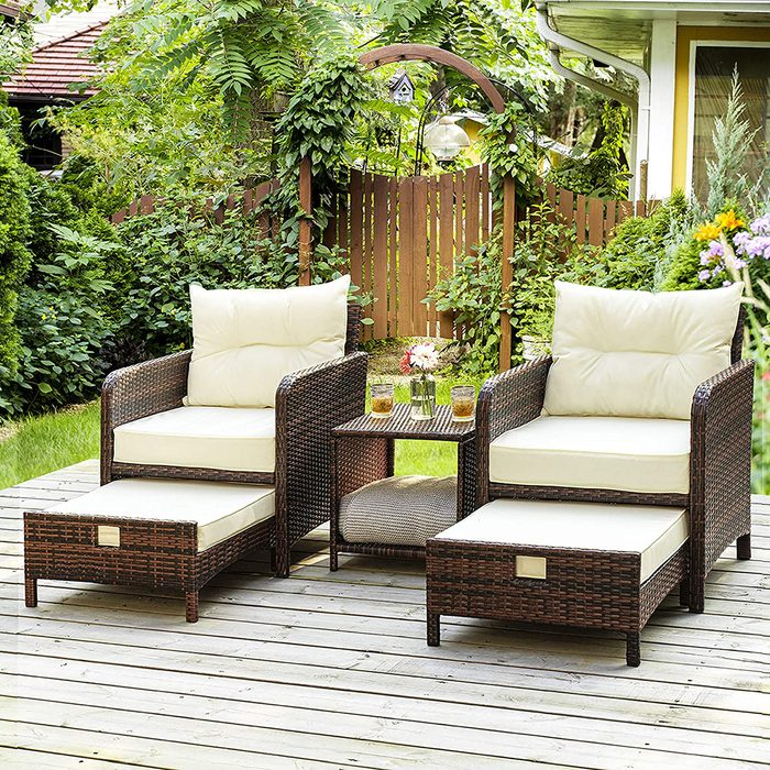 Pamapic Pieces Furniture Outdoor Ottomans