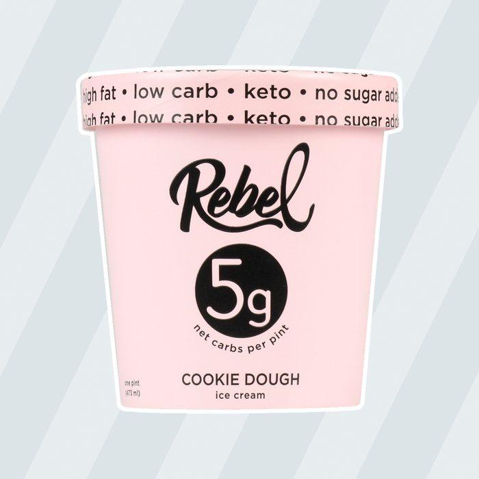 low carb ice creams Rebel Ice Cream Cookie Dough 2