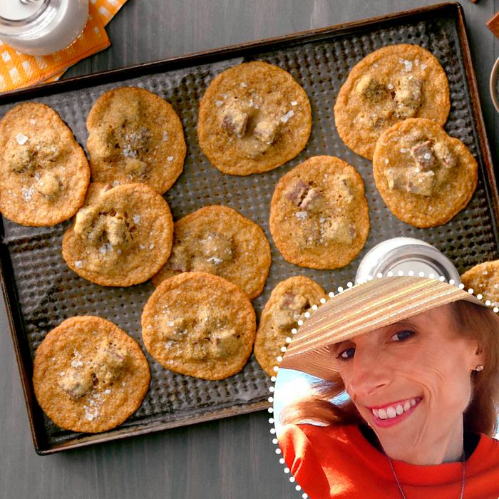 Salted Brown Sugar And Rye Chocolate Chunk Cookie Julie Peterson ready set bake contest