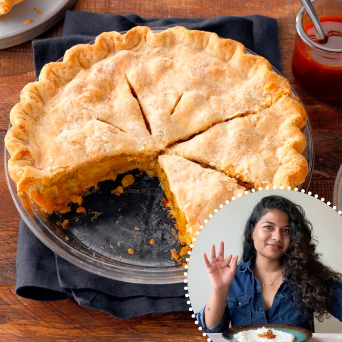 Samosa Pot Pie Shri Repp ready set bake contest