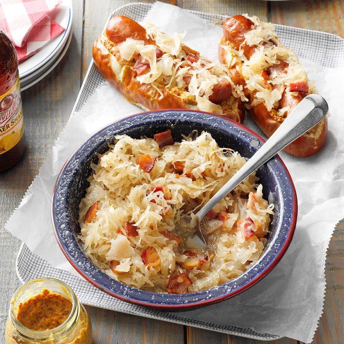 Slow-Cooker Sauerkraut