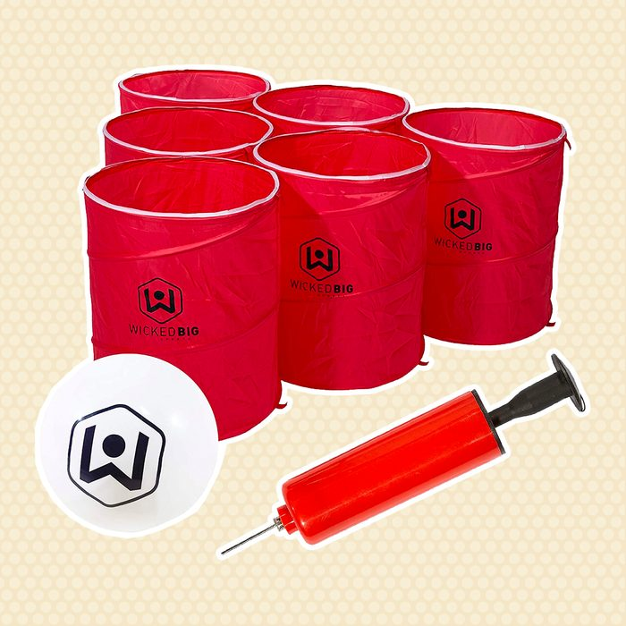 Supersized Pong outdoor games