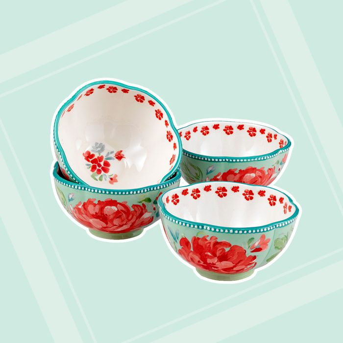 kitchen items for wedding registry The Pioneer Woman Gorgeous Garden Bowls Set Of 4