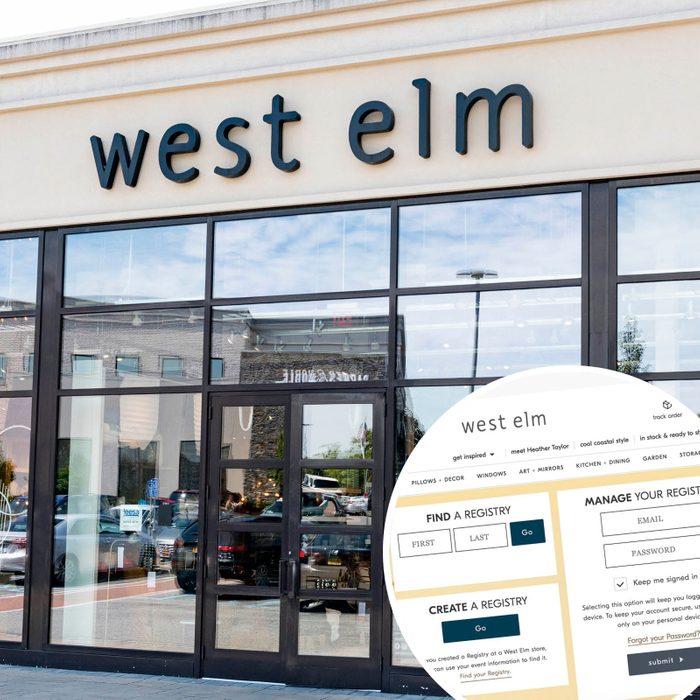 West Elm Wedding Registry