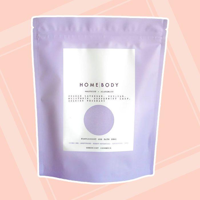 bridesmaid gifts Amethyst Alchemist Pearlescent Cbd Bath Bomb Soak