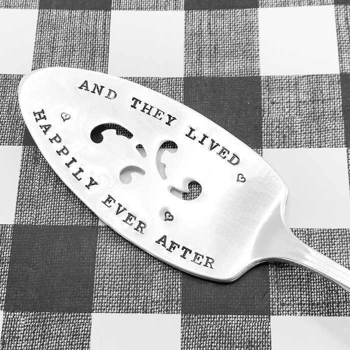 bridal shower gifts And They Lived Happily Ever After Hand