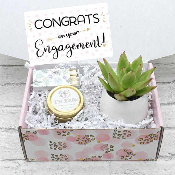 engagement party gifts Engagement Gift Engagement Gift Box