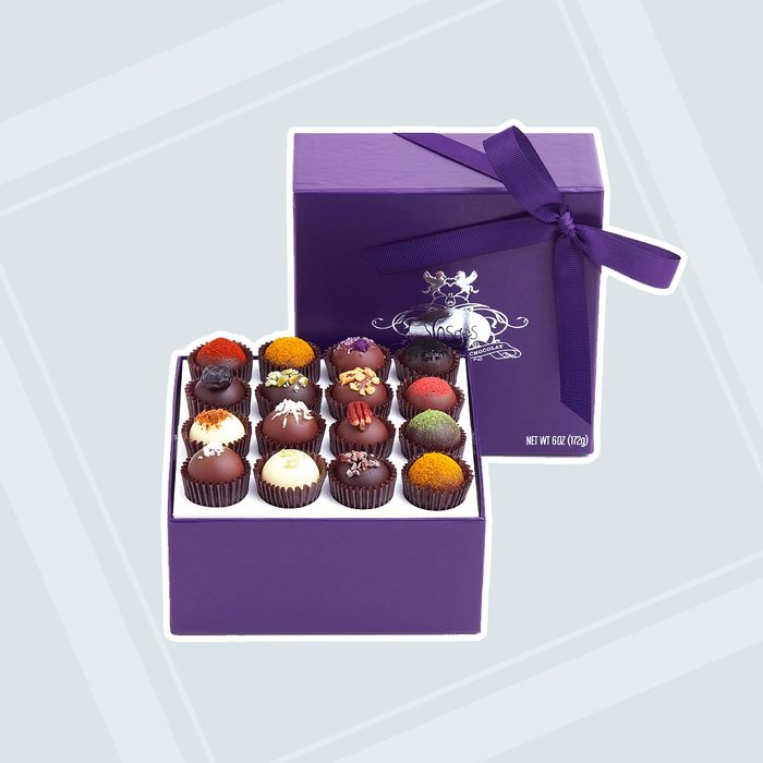 bridesmaid gifts Exotic Truffle Collection 16 Pieces