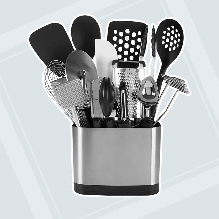 kitchen wedding gifts Oxo 15 Piece Kitchen Utensil Set