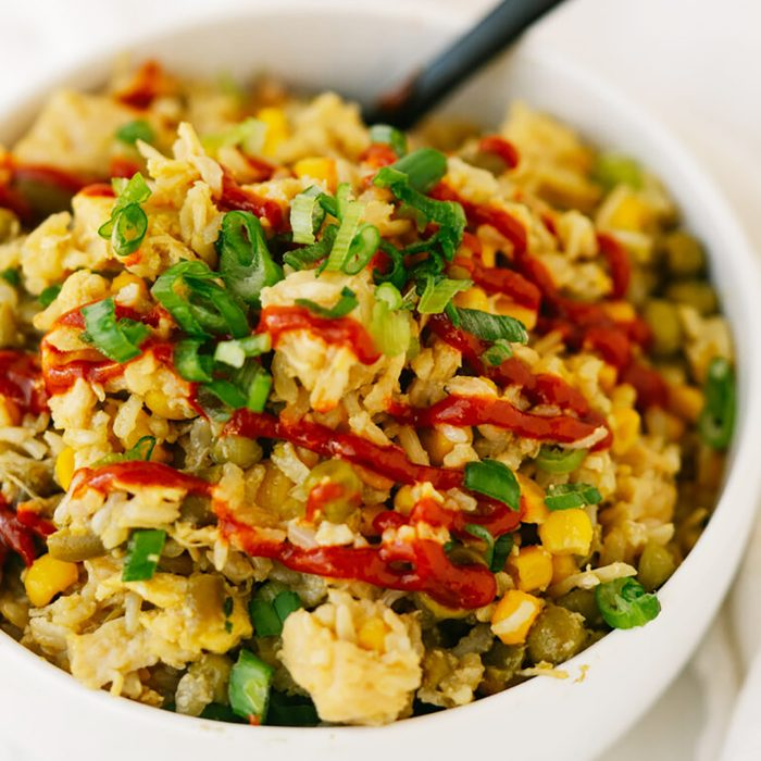 Pantry Chicken Fried Rice