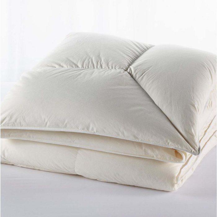 wedding registry ideas Permabaffle Box Goose Down Comforter Warmer
