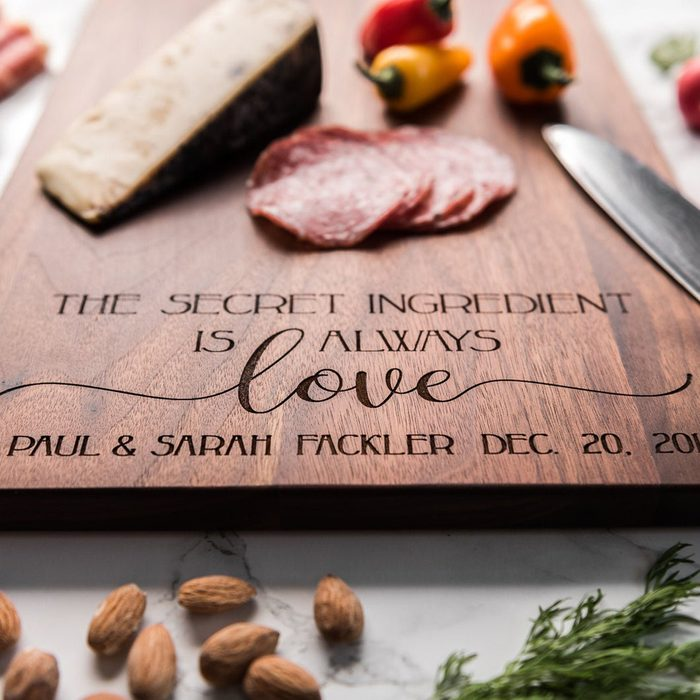 engagement party gifts Personalized Charcuterie Board Custom