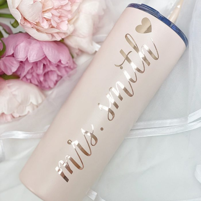 engagement party gifts Personalized Future Mrs Stainless Steel