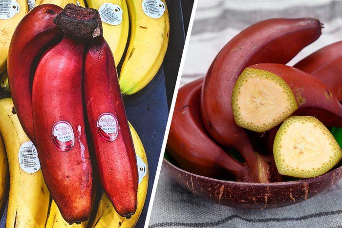Red Banana Bunch