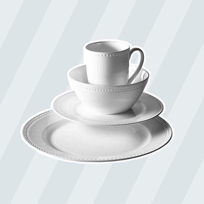 classic wedding gifts Tabletops Unlimited Otella Bone China 16 Piece Dinnerware Set
