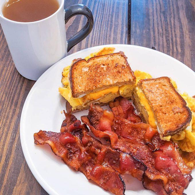Tiktok Breakfast Sandwich