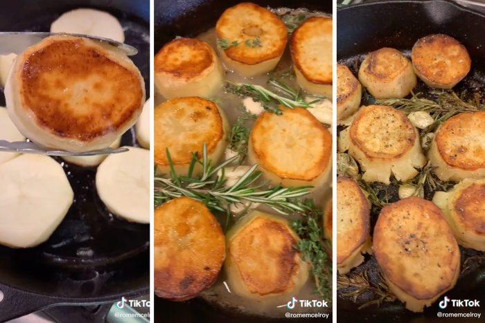 Tiktok Melting Potatoes