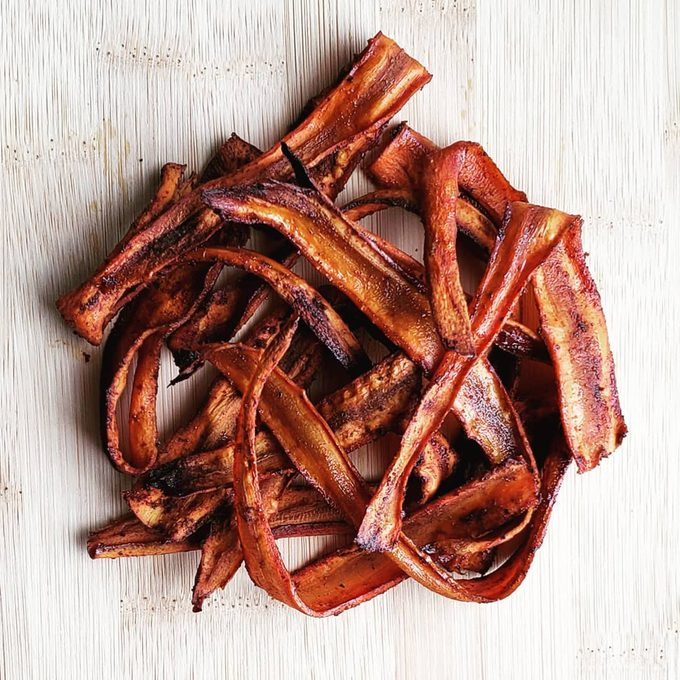 Vegan Carrot Bacon trend