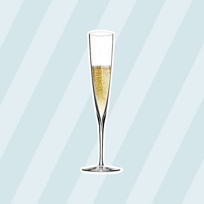 classic wedding gifts Waterford Elegance Champagne Trumpet Flutes Set Of 2