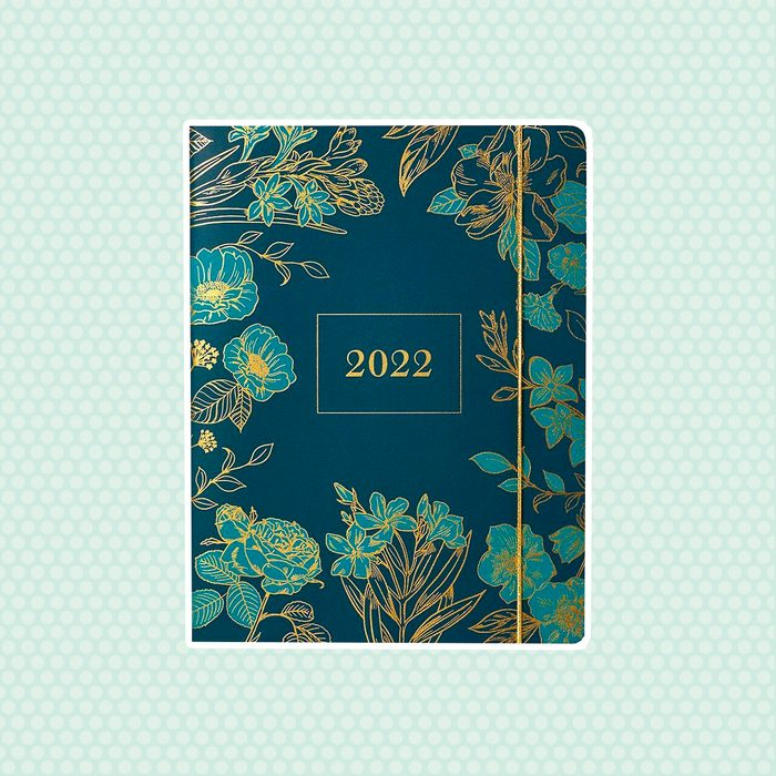 back to school gifts for students 2021 2022 Jade Floral Large Planner