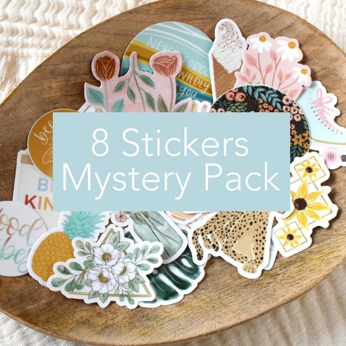 back to school gifts for students 8 Stickers Mystery Pack