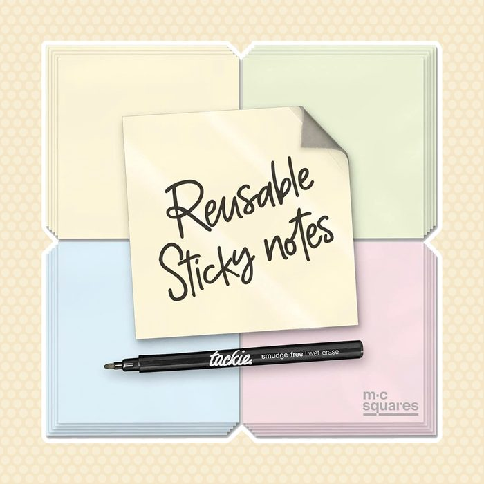 back to school gifts for students Dry Erase Sticky Notes