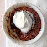 Air-Fryer Mocha Pudding Cakes