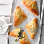 Air-Fryer Spinach Feta Turnovers