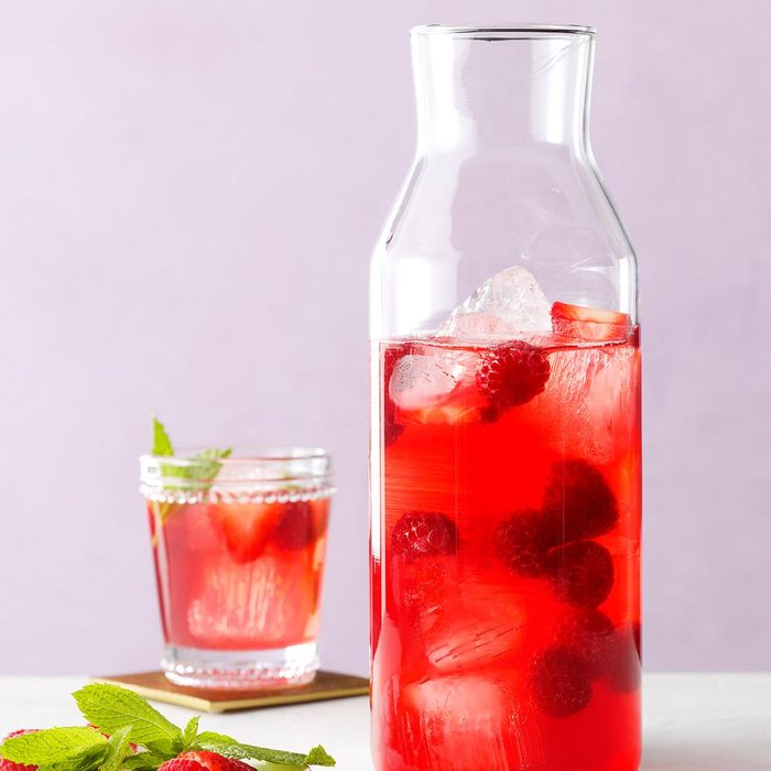 Rose Wine Cocktail
