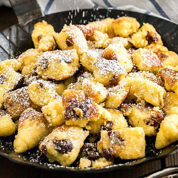 Austrian Pancakes Kaiserschmarrn