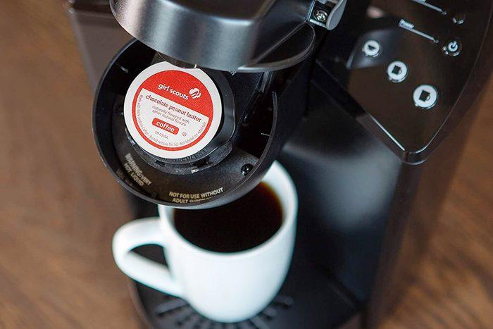 Girl Scout Cookie Coffee in Keurig Qt 1200x800