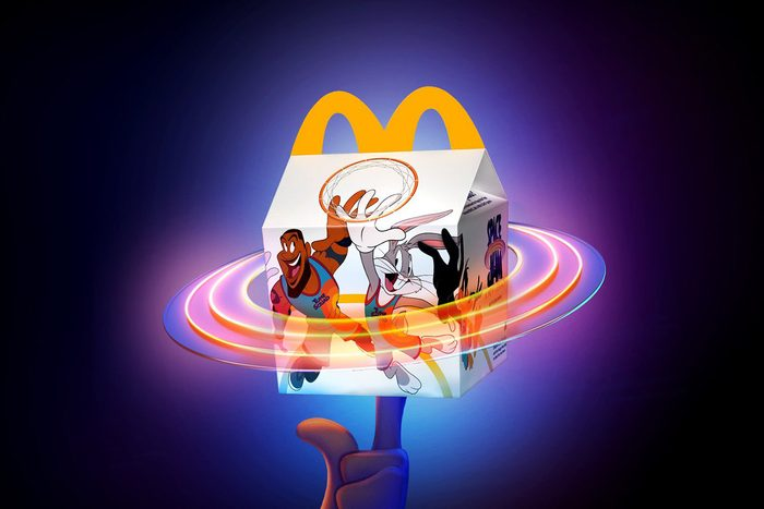 Mcdonalds Space Jam meal