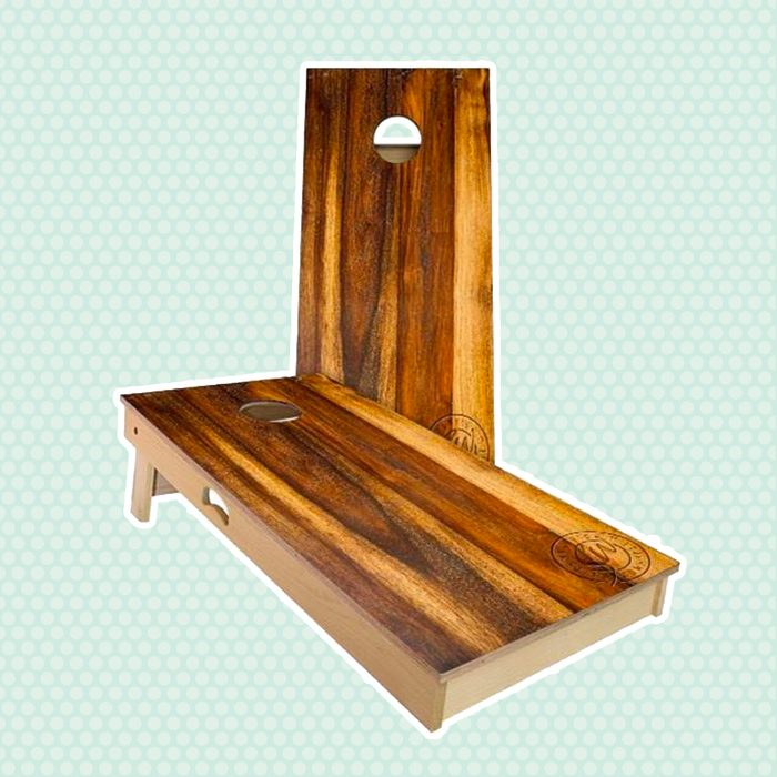 adult party games Sale Treated Oak Cornhole Boards Great