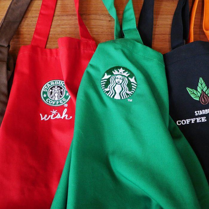 Starbucks Apron Colors