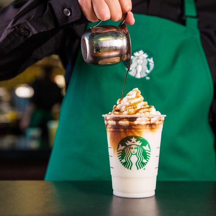 Affogato style Frappuccino photographed on Monday, June 27, 2016. (Joshua Trujillo, Starbucks)