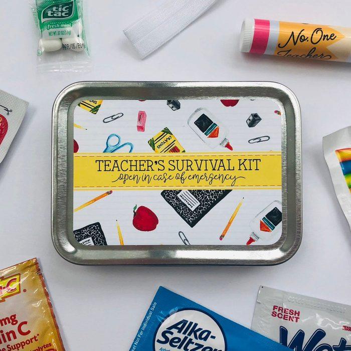 teacher gifts Survival Kit Gift For Teacher