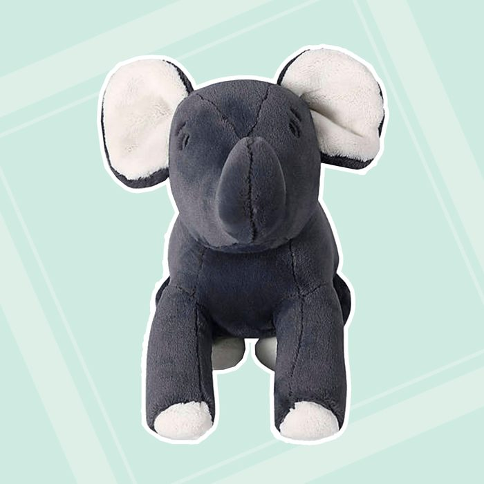 back to school gifts for kids Therapedic Weighted Elephant Plush Toy In Grey
