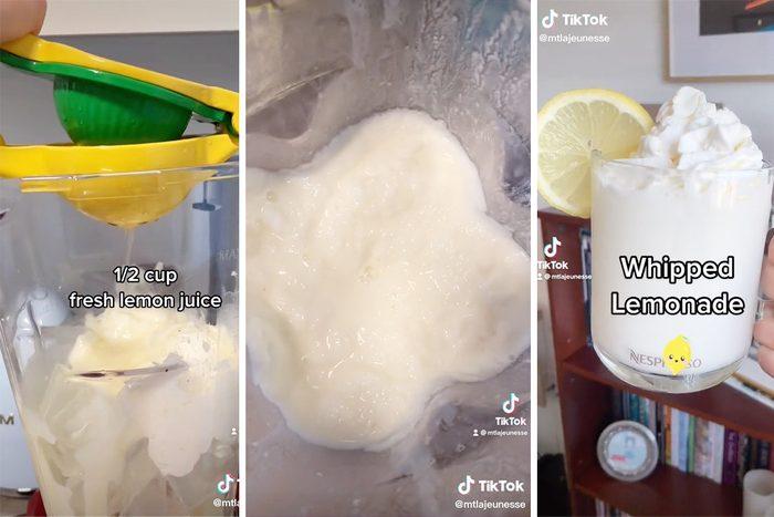 Tiktok Whipped Lemonade