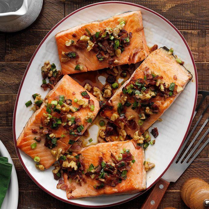 Maple Bourbon Salmon