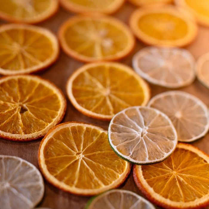 orange slices, the fruits are laid out on the table, background of oranges,