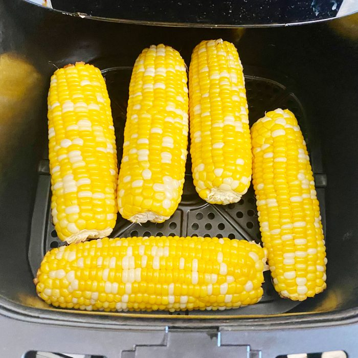 corn on the cob in the air fryer