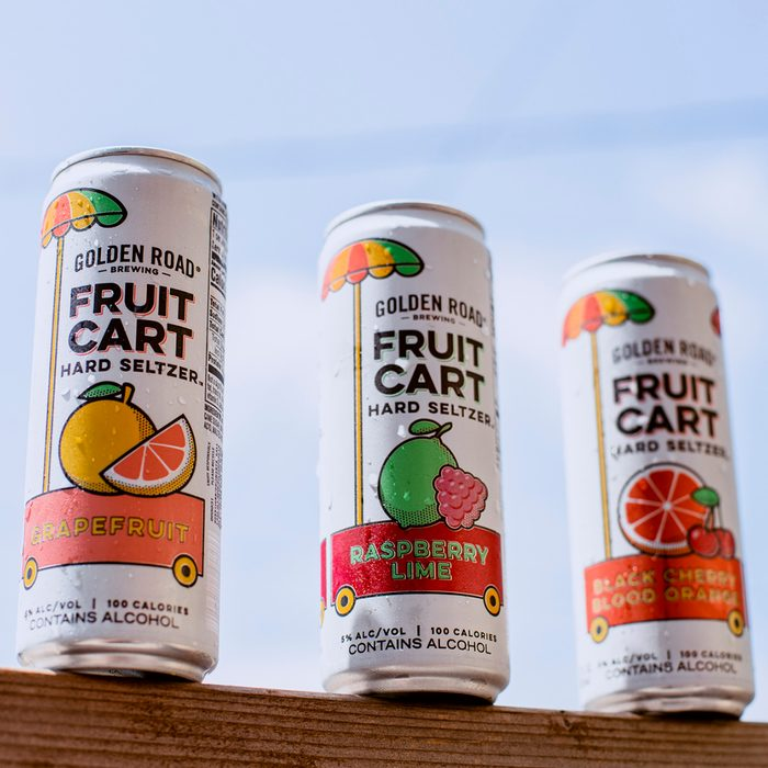 Golden Road Citrus Canned Alcoholic Drinks
