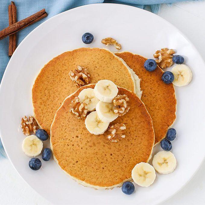 Keto-Friendly Protein Pancakes